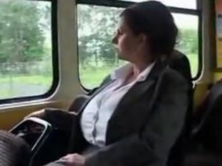 Big Boobs MILF In Tramcar