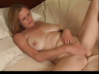 Mature Plays with  Her Fat Wet Pussy by TROC