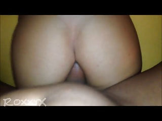 Skinny Big Tit Blonde POV Anal
