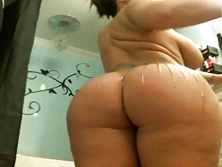 pt1 chunky butt and tits webcam cumshow