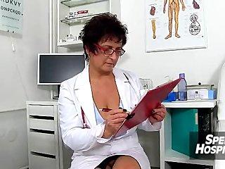Czech big tits contaminate Greta old young wankjob