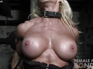 Muscular Jill Still Bound and Bibber Absent