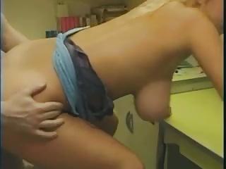Free HD Big Tits tube Kitchen