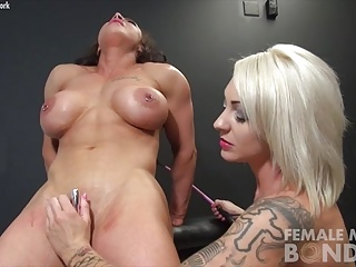 Dani Andrews and Brandimae Inverted Bondage
