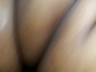 Making grandma's pussy cum