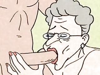 Funny man - hot Grandma is horny