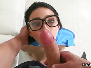 Cyrstal Rae fucks big dick