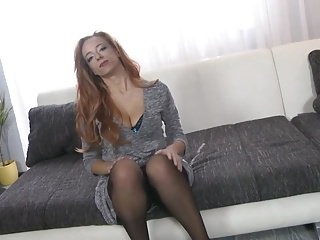 Big Tits Mom with Son