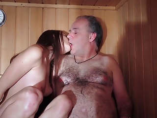 Padre Fucked Beautiful Virgin Young Pussy Gives Blowjob Gaggin