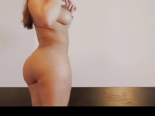 Hot bubblebutt pawg stripping naked in be imparted to murder bedroom
