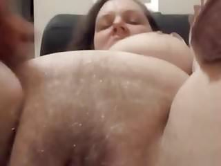 Wet pussy big tits