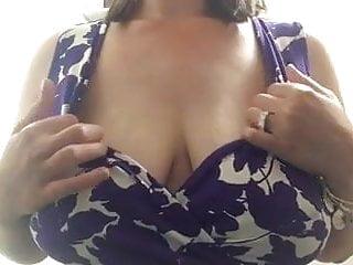 Big breast Milf Showing breast nigh cabin