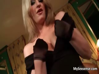 Hot blonde babe gets her horny wet pussy