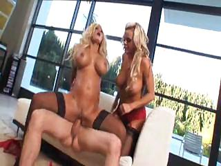 Shyla Stylez and Bree Olson share a hard bushwa and each other