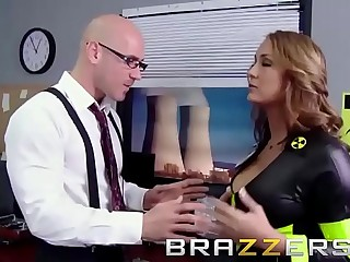 Big Bristols in uniform - (Trina Michaels, Johnny Sins) - Nuclear Tits to the rescue - Brazzers