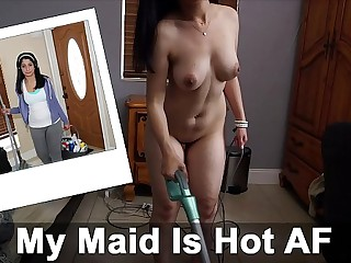 BANGBROS - Broad in the beam Ass and Broad in the beam Tits Latina Maid Nadia Ali Fucked By J-Mac