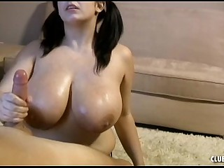 Big-Titted Teen Handjob