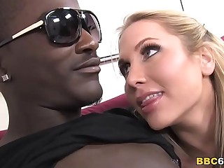 Big Titted Alanah Rae Takes Big Black Blarney