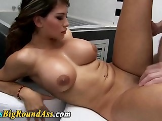 Big titted booty babe fucking