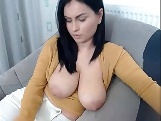 Obese Tits Teacher Shows Tits on Camera