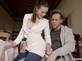Big Tit Scullery-maid
