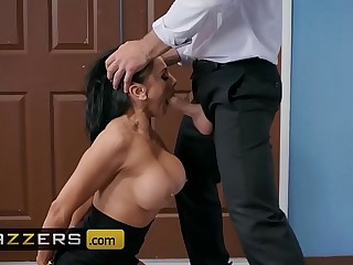 Big Tits at Work - (Audrey Bitoni, Charles Dera) - Emergency Dick Pastime - Brazzers