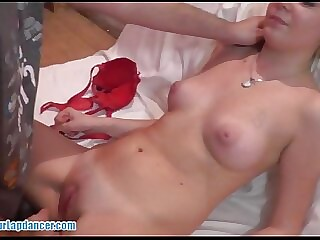 Deserted 18yo hottie fucks a big load of shit and gets cumshot on tits