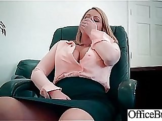 Round Broad in the beam Tits Girl (Brooklyn Chase) Realize Banged In Office clip-15
