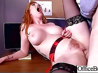 (Lauren Phillips) Round Big Boobs Office Chick Love Hardcore Sexual relations clip-03