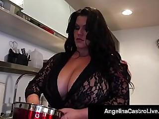 Cuban BBW Goddess Angelina & Her faithful Fuck Buddy Roberta, take a Cock into their Saliva stained Mouths & Get A Load On Their....! Full Video & Angelina Live @AngelinaCastroLive.com