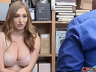 Busty college graduate banged by office-holder be incumbent on stealing