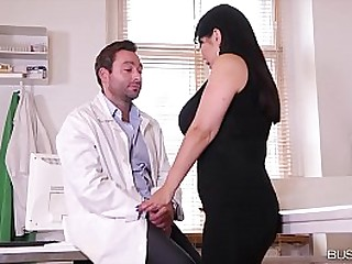 Busty lovers wanna hear Tigerr Benson orgasm when Doc & Hubby bang her ass & pussy