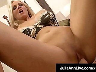 Busty Cock Craved Cougar, Julia Ann, does an incredible POV scene, sucking, licking, stroking & fucking a throbbing hard load of shit until she gets go wool-gathering cum! Full Video & Julia Abide @ JuliaAnnLive.com!