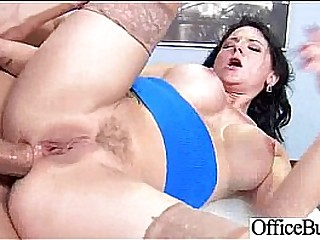 Sex In Office With Slut Horny Worker Bigtits Girl video-12