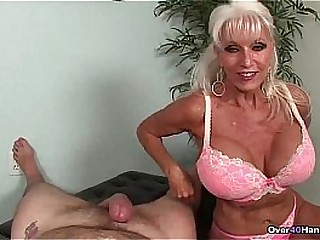 over-Granny loves jerking cocks