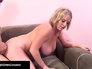 Busty Maggie Green! She Takes a COCK in will not hear of HOLE & SQUIRTS!