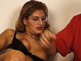 JuliaReavesProductions - Hausfrauen Luder - scene 3 - video 1 blowjob bigtits panties bonking anal