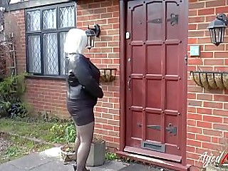 Mr Big mature blonde got fucked hard on all places