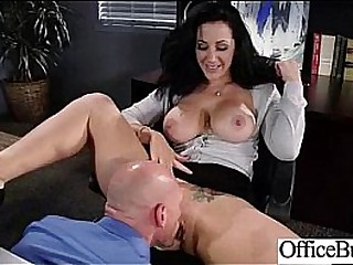 Office Lovemaking Tape With Naughty Lovely Bigtits Girl movie-17