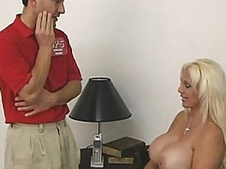 Big breasts babe tittyfucked