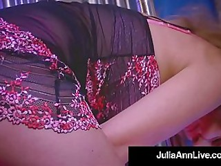 World Hottest Milf Julia Ann Dances, Teases, Rides Say no to Personal Stripper Pole, Masturbates her moist juicy vagina & Puts On a Hot Sexy Marketable Show! Full Video & Julia Ann Live @JuliaAnnLive.com
