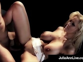 Milf Julia Ann Takes a big cock in her luscious juicy butthole while performing on stage in this Wacktastic approved clip! Hyperactive Video & Julia Ann Live @ JuliaAnnLive.com!