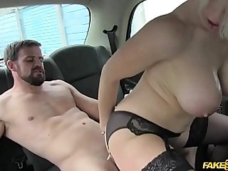 Bigtits babe Rebecca Moore gives the handsome marine a free blowjob