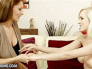 Teaching Bianca Golden & Alison Star - 1