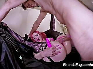 Canadian Shanda Fay takes her Coition Toys into her Perfect Pussy & Tight Asshole while a Dick comes to the rescue to Anal Bang Her Hot Butthole! Full Video & Shanda Live @ ShandaFay.com!