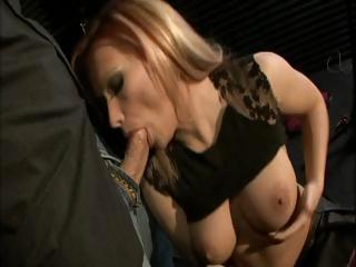 Blonde Katja Kassin has wonderful tits and loves to obtain ass fucked